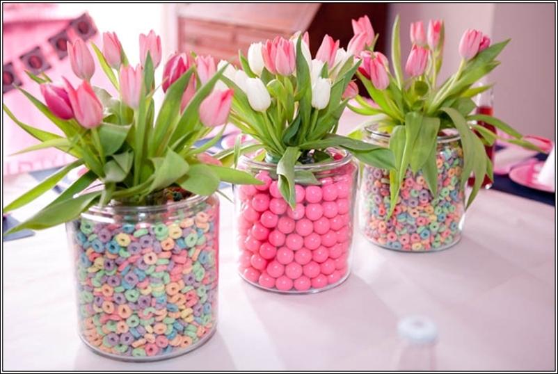 Baby Shower Flower Centerpiece Ideas