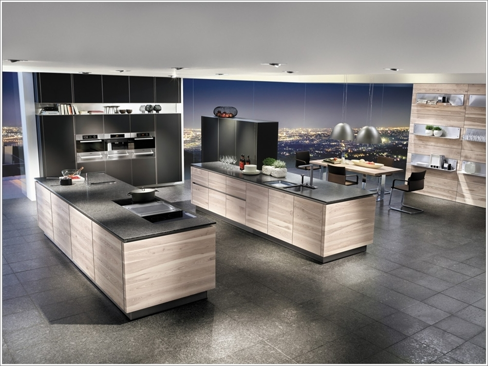 Double island kitchens more space more fun for More kitchen designs