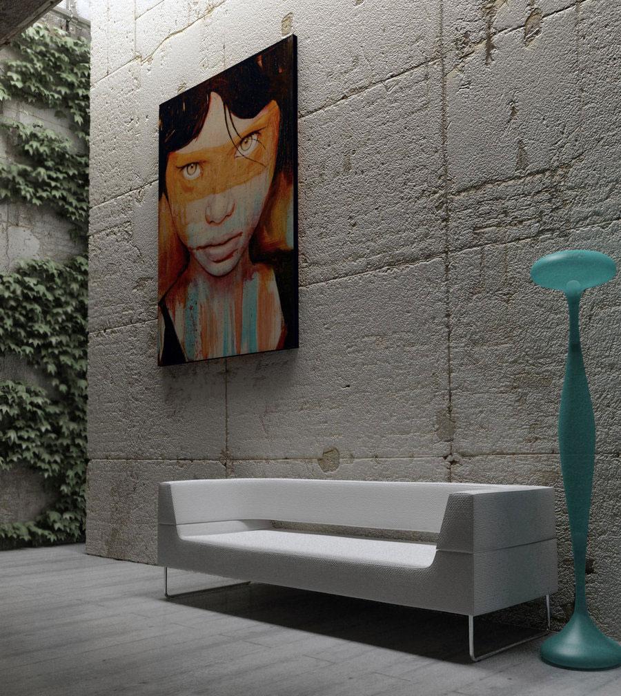 Creative Wall Art Interior Design Ideas on Creative Wall Decor Ideas  id=88470