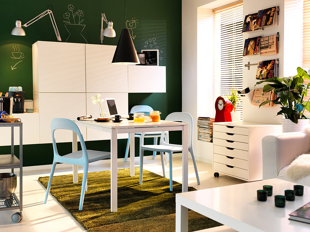 IKEA Small Space Living Room Design Ideas-www.amazinginteriordesign.com
