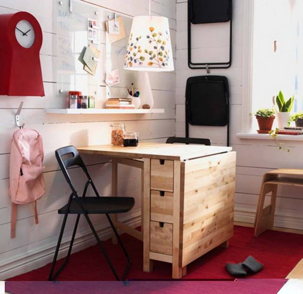 Ikea Kitchen Desk: Ikea Ideas For Small Appartments