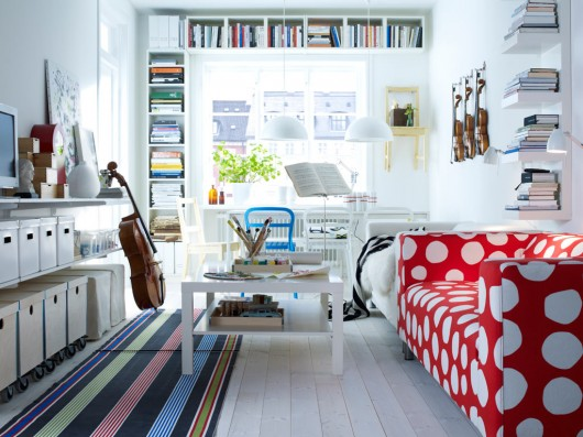 Small Apartment Design By Ikea Salas Muy Pequeñas