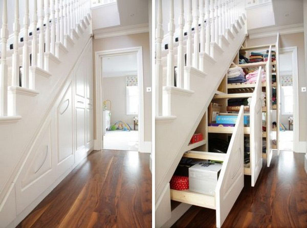 Cool trick and ideas on creative use of the under stairs for Cool things to put in a basement