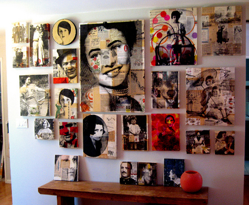 Creative Wall Art Interior Design Ideas