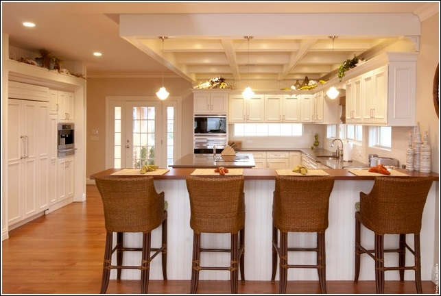 Eat in kitchen designs for you to get inspiration Eat in kitchen island