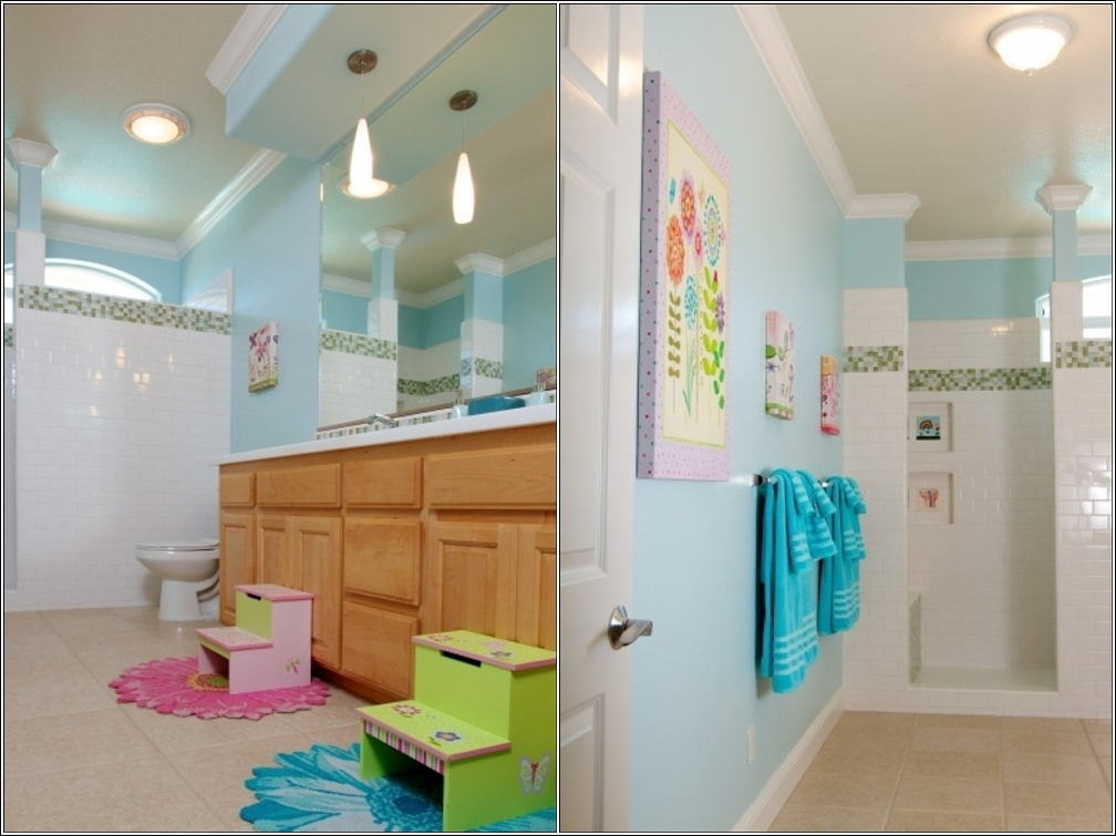 Bathroom ideas for kids Idees deco salle de bains