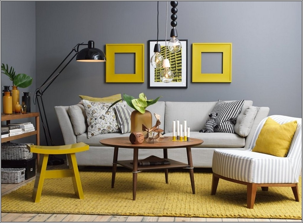 While We Are Discussing This Colour Theme Then Why Not Apply It To The  Living Area As Well? This Living Room Has Both The Tone In Darker ... Part 71