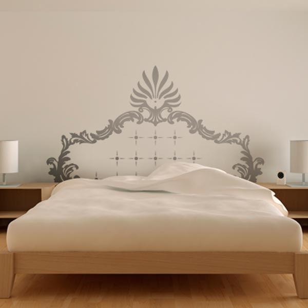 Creative bedroom wall art sticker ideas for Bedroom wall art