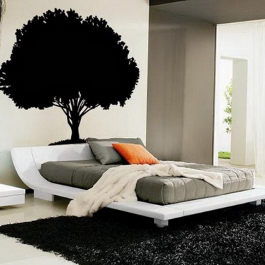 BlackTree-Wall-Stickers-Murals-for-Modern-Bedroom