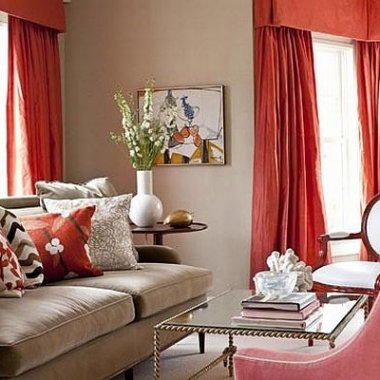 Fresh-Orange-Curtains-Ideas-for-Living-Room-and-Sofa