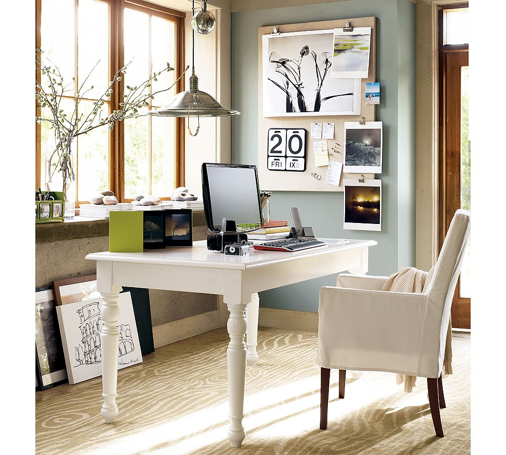 Creative home office ideas for Home office makeover ideas