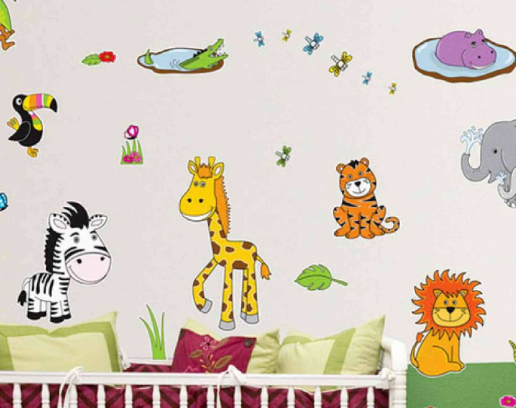 Wall Painting For Kids Room Animal Wall Stickers For Kids Room