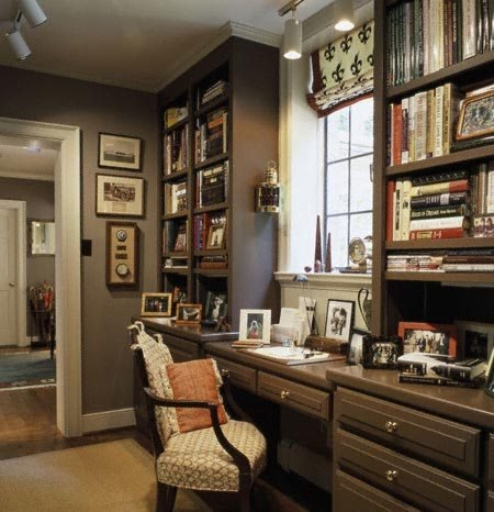 the use of space is really important while decorating your home office
