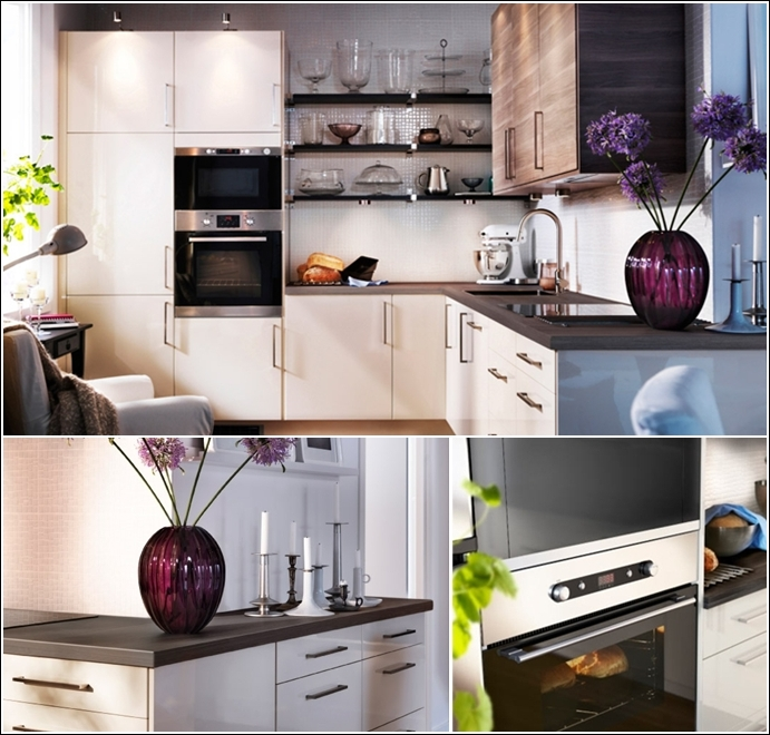 Ikea solutions for small kitchens for Kitchen design solutions
