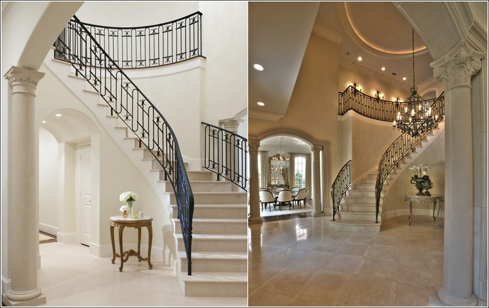 Amazing foyer decor ideas for your home for Mansion foyer designs