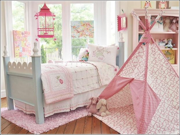 Decorate Your Child's Room Or Playroom With A Teepee