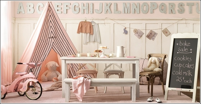 decorate your child 39 s room or playroom with a teepee. Black Bedroom Furniture Sets. Home Design Ideas