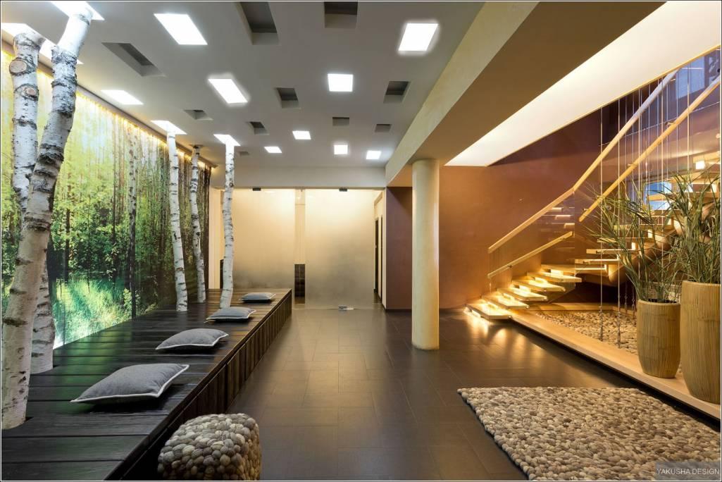 Kết quả hình ảnh cho pebbles used in interiors