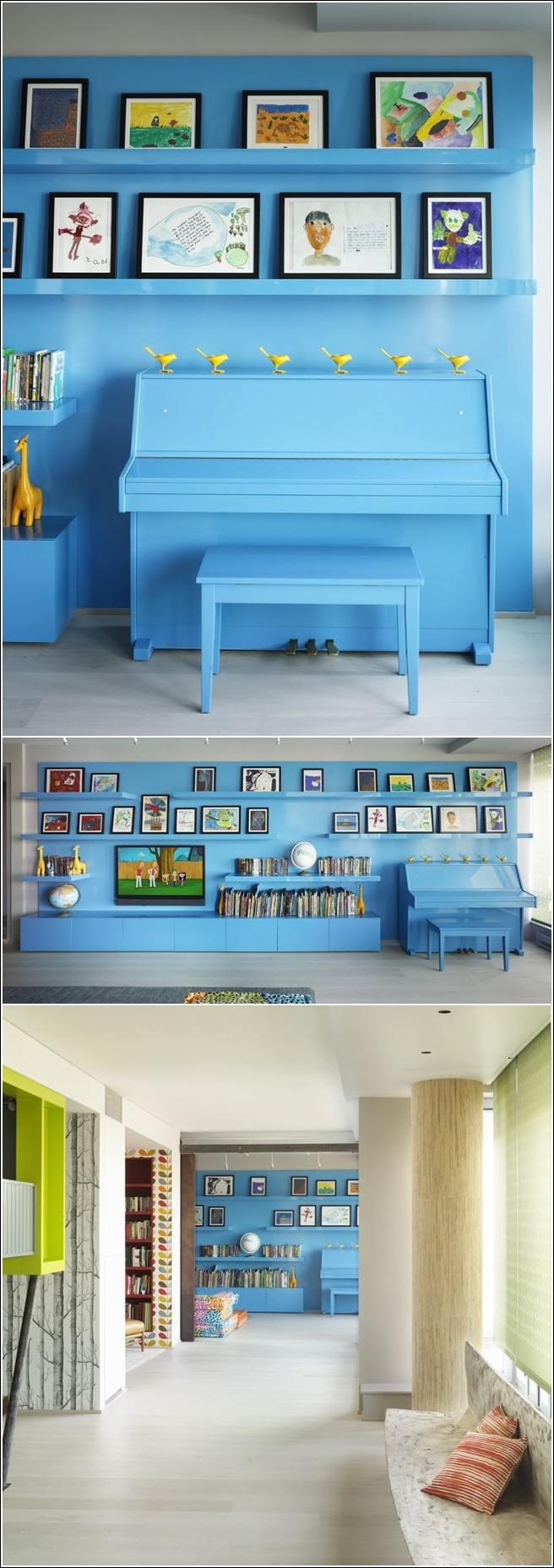 Design Some Musical Interior With A Piano