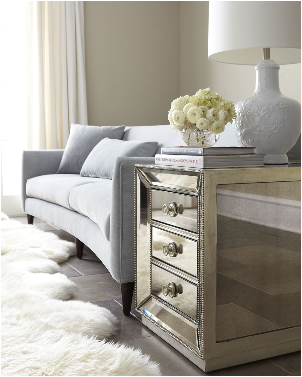 Glamorous mirrored furniture for your home for Furniture 4 your home