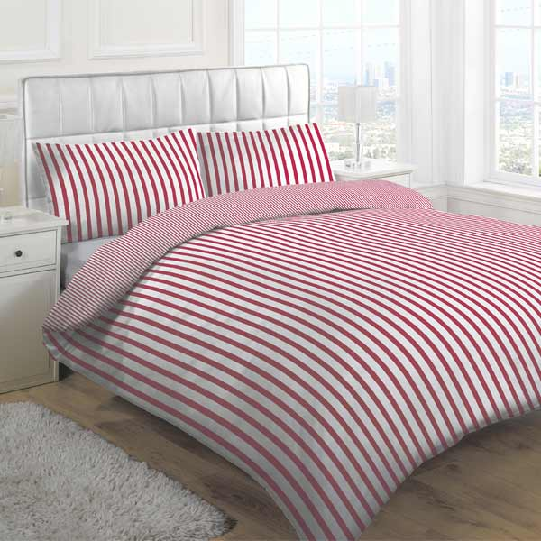 Adorable Tik Stripe Duvet Cover Set