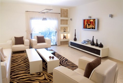 Animal Print Rug For Your Living Room