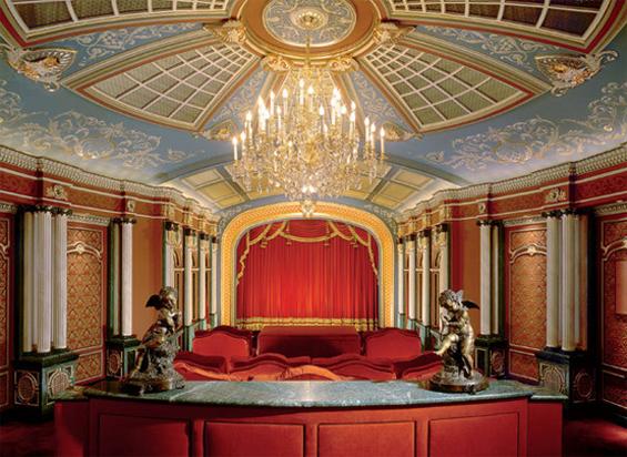 Artistic Home Cinema Design