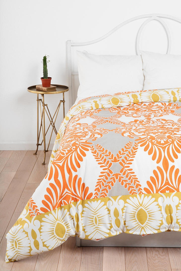 decorate your bedroom with stylish duvet covers design - bohemian floral duvet bedding