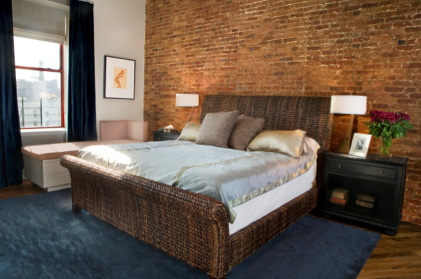 Amazing interior design new post has been published on - Brick wall bedroom design ...