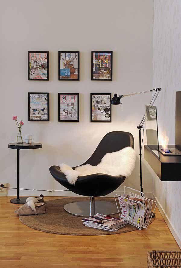 Contemporary Reading Corner
