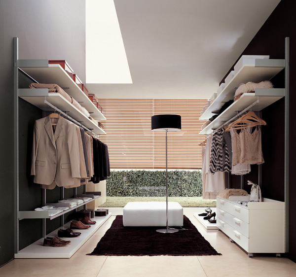 Amazing Modern Walk In Closet Stuning Walk In Closets Design