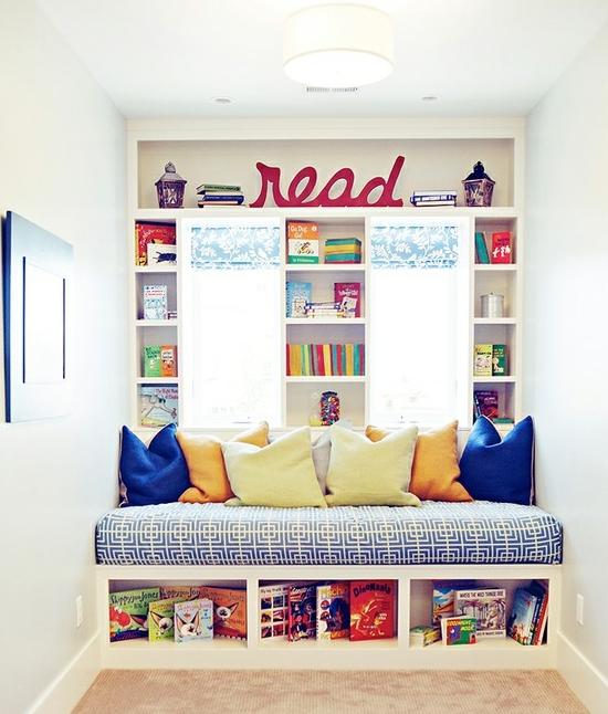 Creative Library-Reading Corner