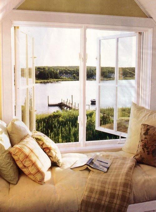 Dreamy Reading Corner near the Window