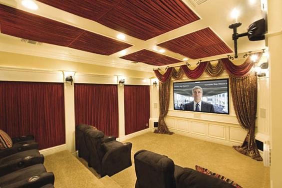 Elegant Home Cinema Design