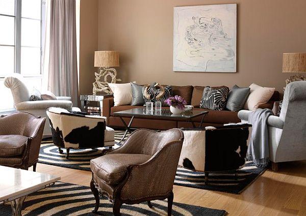 Safari interior design ideas for Safari decorating ideas for living room