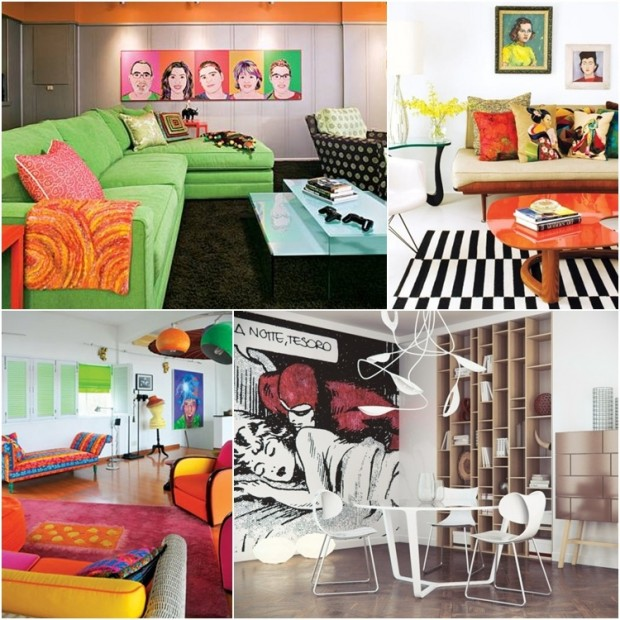 Home Decor Design Ideas: Pop Art Home Decor