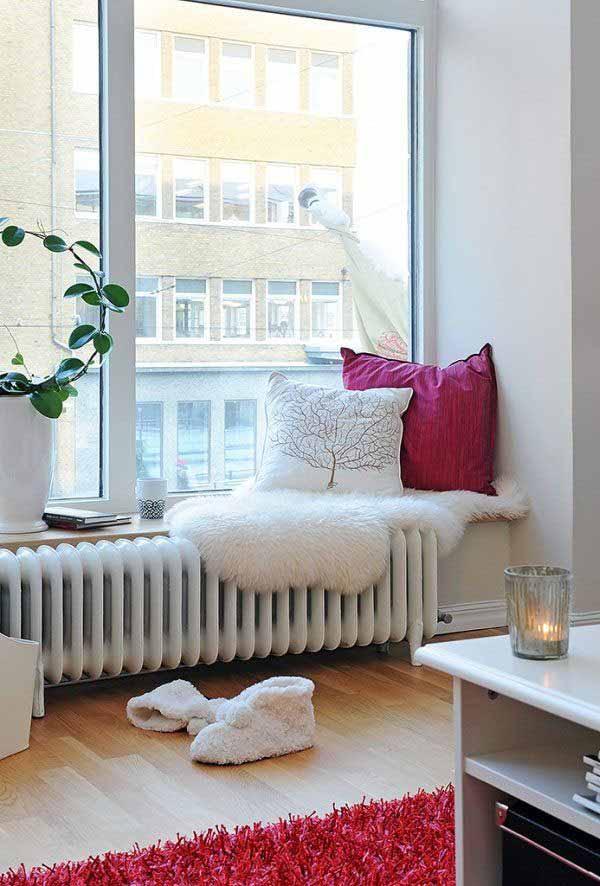 Romantic View Reading Corner