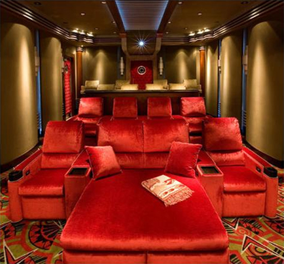 21 Incredible Home Theater Design Ideas Decor Pictures: Amazing Home Cinema Designs