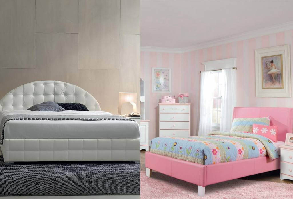 Upholstered beds for a classy look in your bedroom for Usona bed