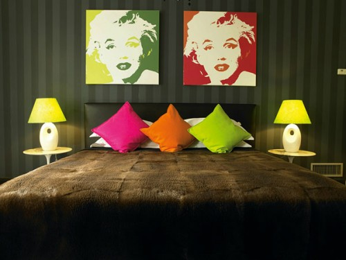 Pop Art Bedroom Your Family Canvas Prints Photos E1350905635209