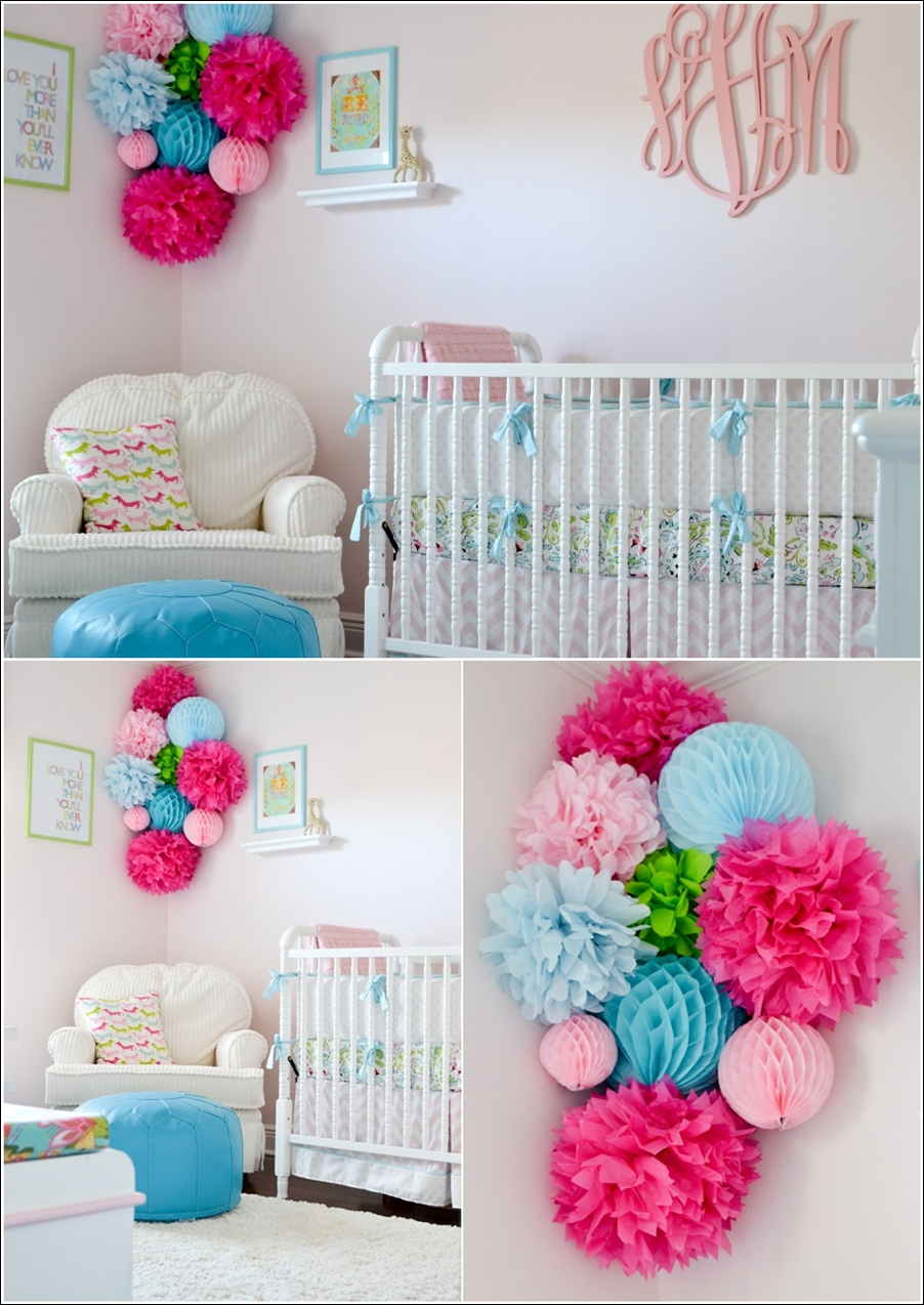 Decorate Your Darling Baby S Nursery With Pom Poms