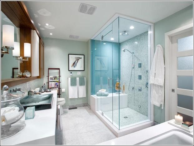 Bathrooms Designed With Serene Aqua Tones Best Bathroom Designed