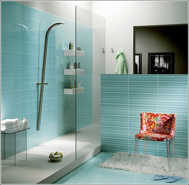 Tile Designs For Bathrooms Turquoise Sense Modern Shower Glass Room Divider