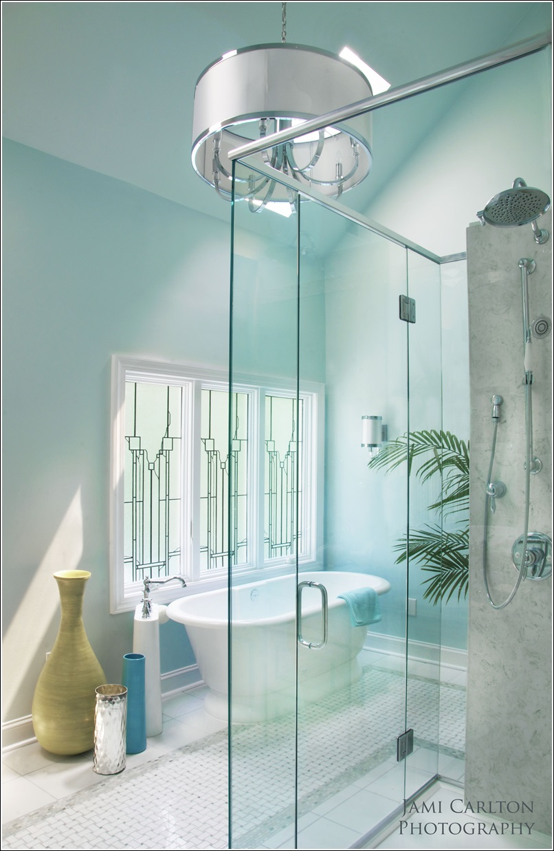 Tiffany blue bathroom designs - Bathrooms Designed With Serene Aqua Tones