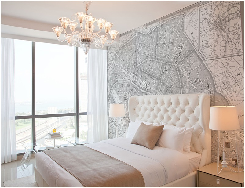 Interior Decorating With Maps For Your Home