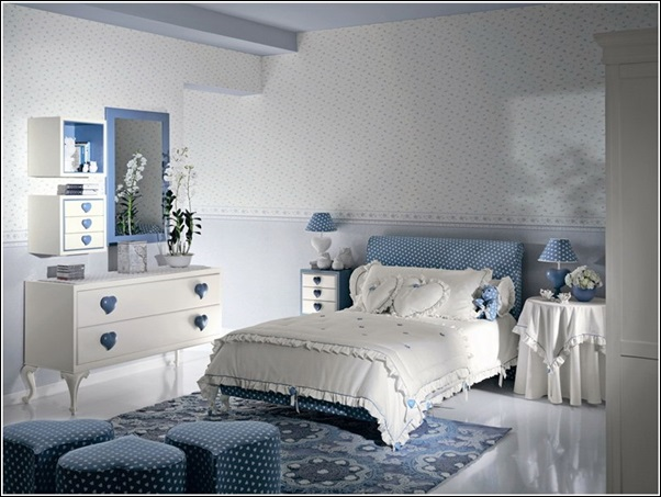 Adorable 6 Sweet Heart Theme Kids Bedroom Designs for Your Angels