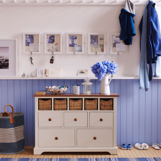 Sea inspired coastal hallways ideas for Arredamento tipo ikea