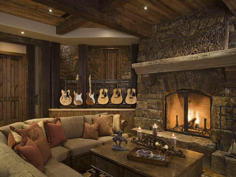 Amazing interior design new post has been published on - Beautiful rustic design ideas for living room ...