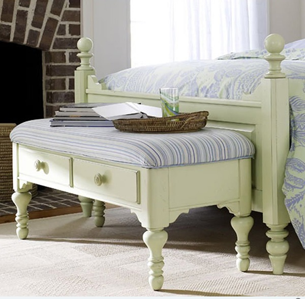 Creative Bedroom Storage Bench Designs