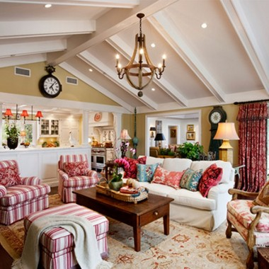 Striped red Country Furniture
